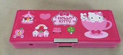 Sanrio Hello Kitty Pencil Case With Double Magnetic Compartments