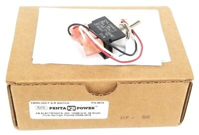 Nib Kb Penta Power 9519 Forward/Stop/Reverse Switch Kit Kbma-24D 0717R