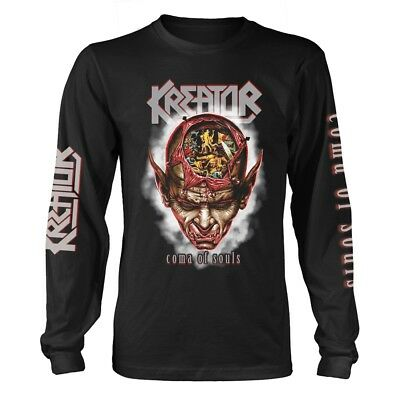 Kreator 'Coma Of Souls' Long Sleeve T shirt - NEW