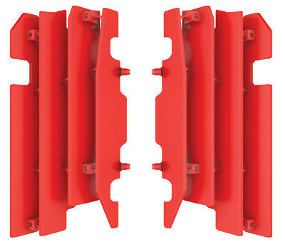 Radiator Louver Cover (Red) Pol. 8459900002 For Honda CRF450R/CR250R/CR125R