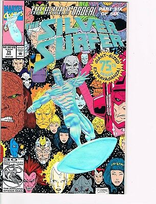 Silver Surfer # 75  NM 9.4