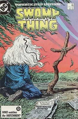 Swamp Thing (2nd Series) #55 1986 FN- 5.5 Stock Image Low Grade