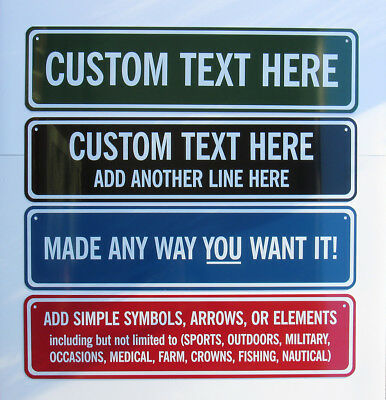 Custom Street Signs: Personalized Metal Street Sign - Your Name Sign