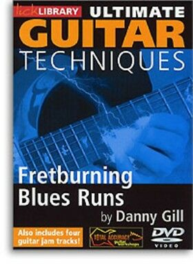 Ultimate Guitar Techniques Fretburning Blues Run,