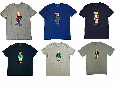 NEW Polo Ralph Lauren Mens POLO Bear T Shirt LIMITED EDITION