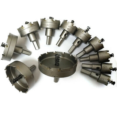 16-100MM CARBIDE TIP Drill Bit TCT Hole Saw Set for