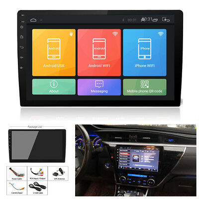 "10.1"" 1080P Touch Screen Android 8.0 Octa-Core Car Stereo Radio Wifi GPS Player"