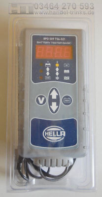 NEU HELLA Midtronics Batterietester BASIC 8PD 009 734-021 Batterietestgerät