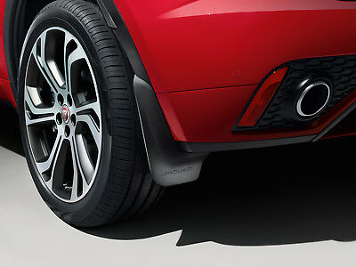 Genuine Jaguar E Pace - Rear Mudflaps Splash Guards (J9C5307)