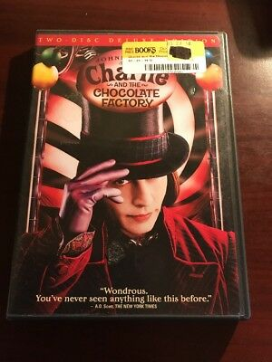 Charlie And The Chocolate Factory 2 Disc Special Edition DVD