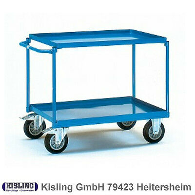Fetra Table Trolley 4822 with 2 Blechwannen Wheel Ø 200 Mm