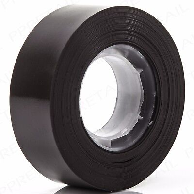 STRONG 6M LONG x 19mm WIDE Magnetic Self Adhesive Tape Thick Strip Sticky Back