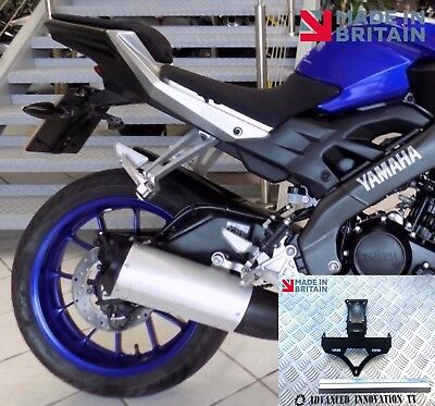 * Yamaha MT-125 Tail Tidy 2014 - 2019. Fender Eliminator, Number Plate Holder *