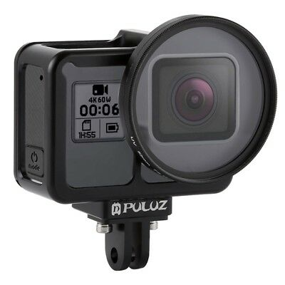 PULUZ Housing Shell CNC Aluminum Alloy Protective Cage for GoPro HERO 7 / 6 / 5