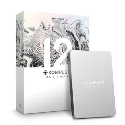 Native Instruments Komplete 12 Ultimate Collectors Edition (NEW)