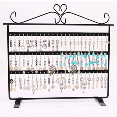 72 Hole Earrings Ear Studs Display Holder Stand Jewelry Organizer Rack LI