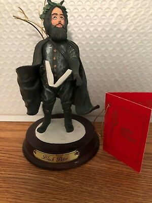DUNCAN ROYALE BLACK PETER 2nd  Edition Christmas Figurine