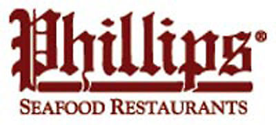 $100 Phillips Seafood Restaurant Gift Certs **just Reduced** Multiple Locations