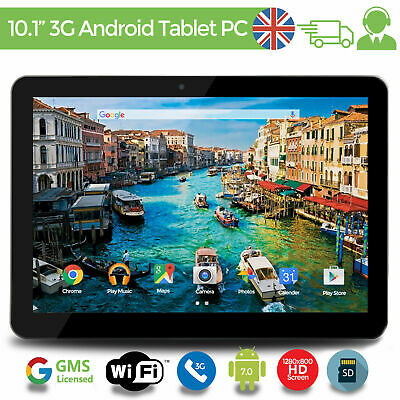 """10.1"""" Tablet PC Android 7.0 HD Quad Core Dual Camera WIFI 3G GPS 16GB upto 256GB"""