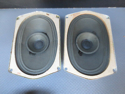 2x Philips Hochtöner  speakers Alnico tweeters .  4 Ohm