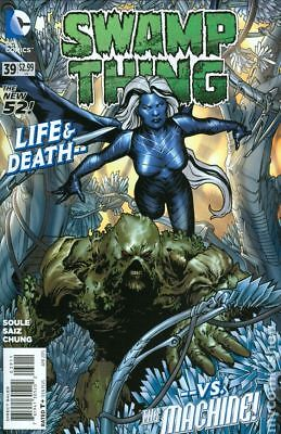 Swamp Thing (5th Series) #39 2015 FN Stock Image