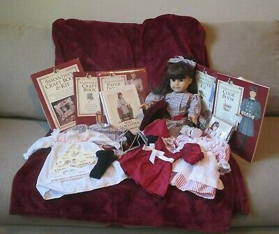 """American Girl Doll Pleasant Company 18"""" Samantha W/ Meet Outfit Book & More Look"""