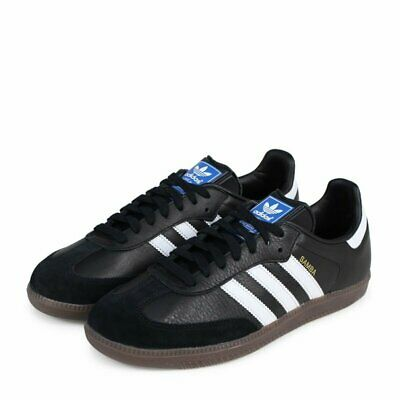 72245c4ad Men's Adidas Originals SAMBA OG BZ0058 Black/White CASUAL SNEAKERS SZ 7-13  SUEDE