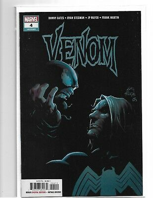VENOM #4 - VF/NM - ORIGIN KNULL SYMBOITE GOD 1st PRINT CATES STEGMAN HOT