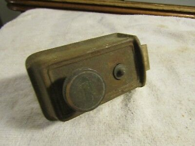 Antique Vintage Victorian Age Yale Door Lock with Yale Round Cylinder Lock 1880s