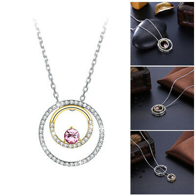1 pc Sterling Silver Necklace S925 Clavicle Chain Simple Choker for Women Ladies