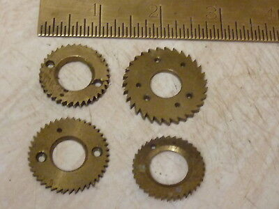 4 Fusee Movement Cone Ratchet Gears