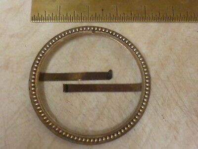 Good Antique French Clock Open Faced Bezel (B)