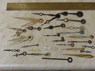 Useful Lot Of Old - New ? Clock Hands For Various Types Of Clocks (Sp)