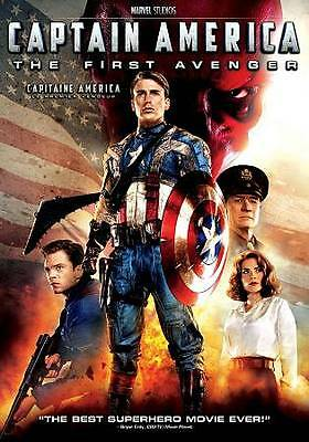 Captain America - The First Avenger by Chris Evans, Hayley Atwell, Sebastian St