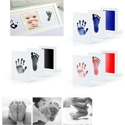Inkless Wipe Baby Kit Hand Foot Print Keepsake Newborn Footprint Handprint Gift