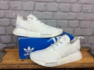 a77cb68a067bf Adidas Mens Uk 9 Eu 43 1 3 White Nmd Japan Boost R1 Primeknit Trainers
