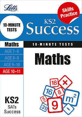 Maths Age 10-11: 10-Minute Tests by Letts Educational (Paperback, 2013)