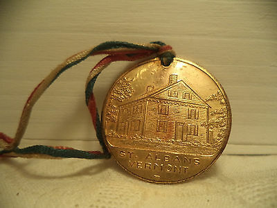 Vintage original 1938 St. Albans Vermont 150th Anniversary Medal
