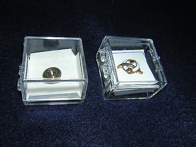 TIE TACK Shriner's sword moon star Mason's Compass 1/2in. new old stock PIN TAC>