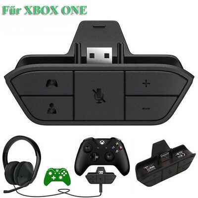 Gaming Headset Head Phone Stereo Adapter For Microsoft Xbox One Game Controller