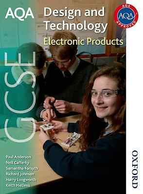 AQA Design and Technology GCSE Electronic Products - Paperback NEW Johnson, Rich