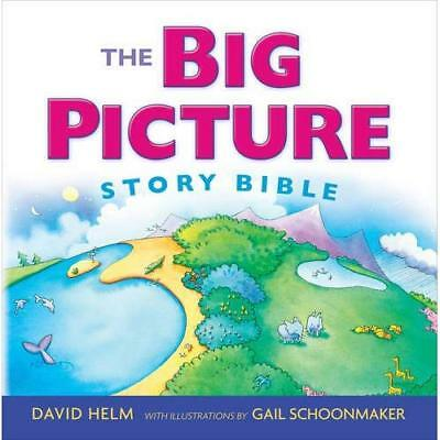 The Big Picture Story Bible - Hardcover NEW David Helm (Aut 2014-09-19