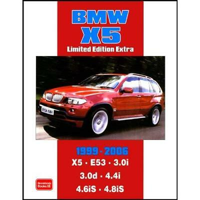 BMW X5 Limited Edition Extra 1999-2006 (Brooklands Book - Paperback NEW Clarke,