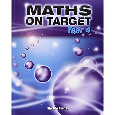 Maths on Target: Year 4 - Paperback NEW Pearce, Stephen 2008-05-10