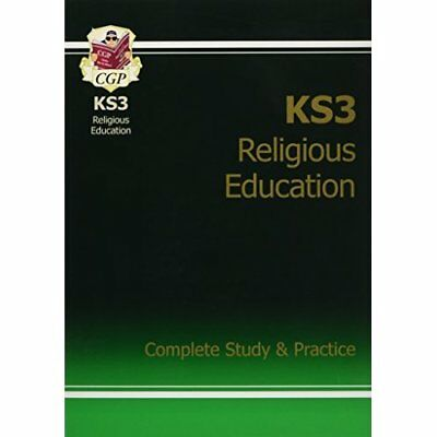 KS3 Religious Education Complete Study & Practice - Paperback NEW CGP Books (Aut