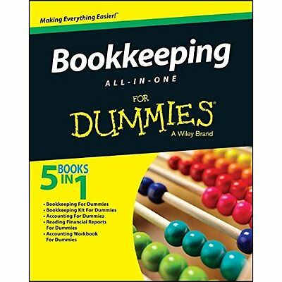 Bookkeeping All-in-One For Dummies - Paperback NEW Consumer Dummie 2015-09-23