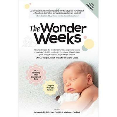 The Wonder Weeks: How to Stimulate Your Baby's Mental D - Paperback NEW Plooij,