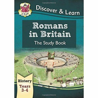 KS2 Discover & Learn: History - Romans in Britain Study - Paperback NEW Books, C