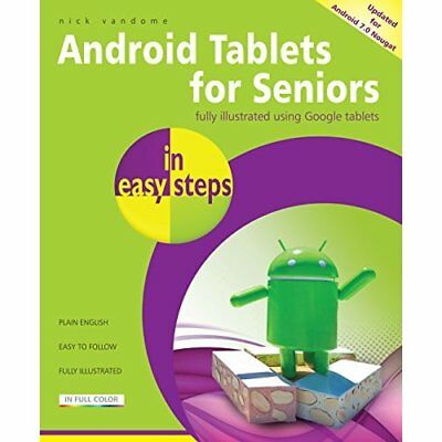 Android Tablets for Seniors in easy steps, 3rd Edition: - Paperback NEW Vandome,