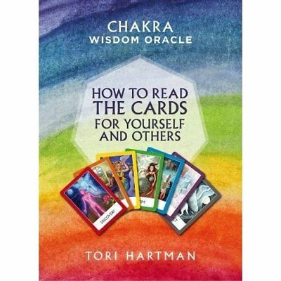 Chakra Wisdom Oracle: How toRead the Cards for Yoursel - Paperback NEW Hartman,